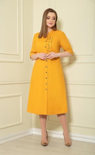 Dress Andrea Style #0361/4 gorchica