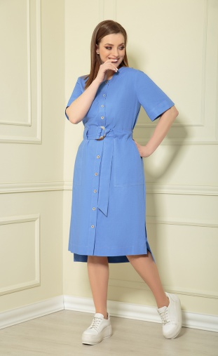 Dress Andrea Style #0362/11 vasilek