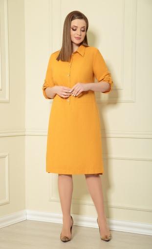 Dress Andrea Style #0363/4 gorchica