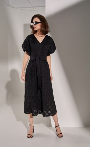 Dress MilMil #1047BK Valetta