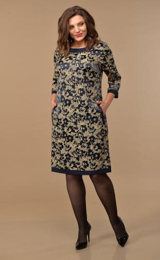 Dress Lady Style Classic #1427 t.sin-bezh