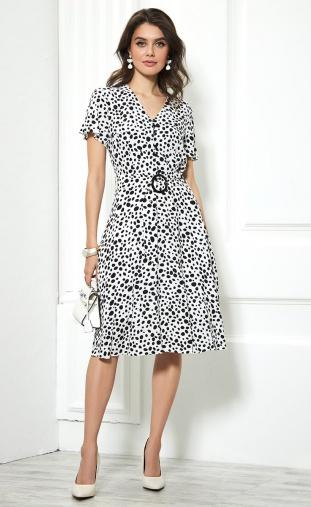 Dress Sale #1474 belo-chernyj