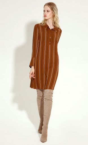 Dress Sale #16780z terrakotovyj