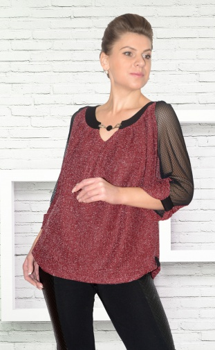 Jumpers, cardigans, blazers Needle Revertex арт. 317/5 bordo