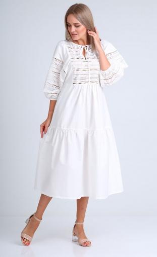 Dress Flovia #04072 beloe