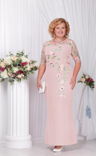 Dress Ninele #5543 pudr