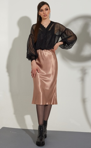 Skirt Golden Valley #56472 kapuchino
