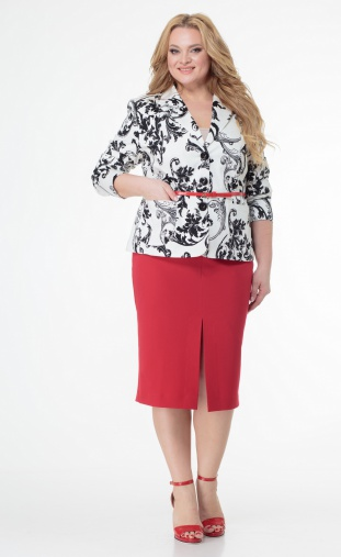 Skirt Sale #597 krasnyj