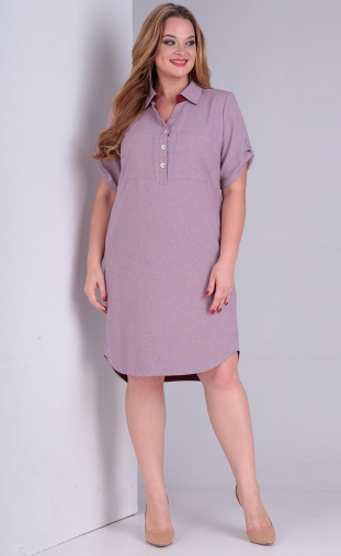 Dress Vasalale #616 roz-fiol