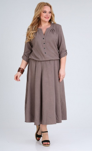 Dress Vasalale #684 kofe
