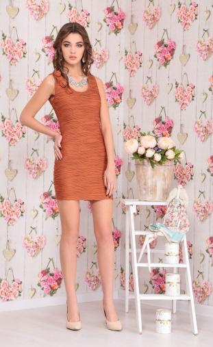 Dress Ninele #976 korichn