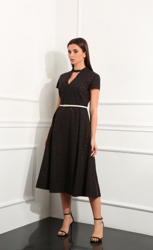 Dress Andrea Fashion #AF-148/6 chern