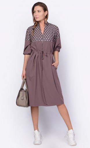 Dress Sale #F14995 mokko,mol