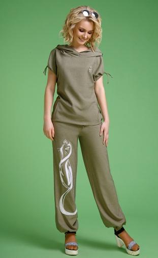 Suit Euromoda #099 xaki appl