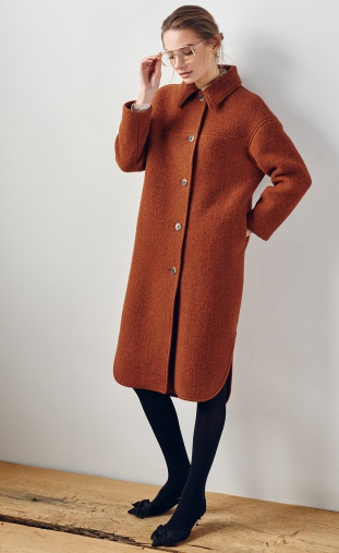 Coat PAPAYA #1514