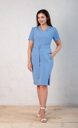 Dress Angelina Design Studio #651 goluboj
